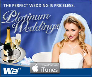 We will be featured again on Platinum Weddings TV Show