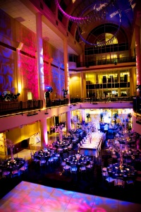 Lighting by Extreme Productions Entertainment at Library Galleria, Sacramento